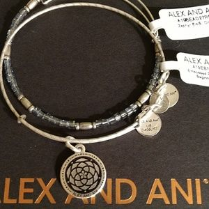 """ALEX AND ANI """"NEW BEGINNINGS"""" 2 SET! EMBOSSED NWT!"""